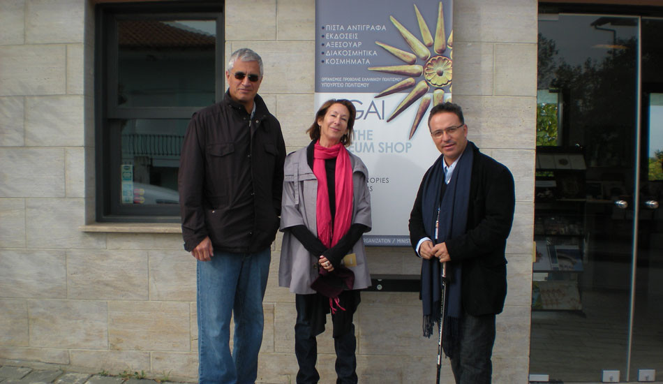 L. Psychogios Documentary Oscar winner guided by C.Sfikas